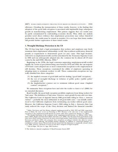 formal retail employment contract template