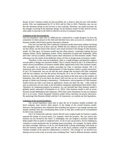 general business model hypothesis in pdf