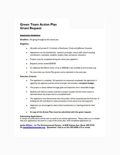 green team action plan in pdf