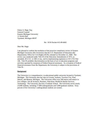 investigation outcome letter in pdf