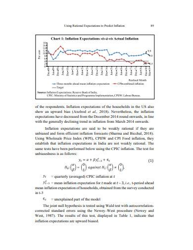 predict inflation example
