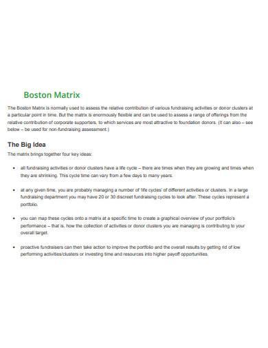 printable boston matrix