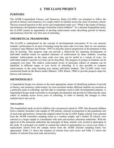 research monograph template