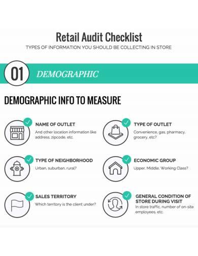 retail audit checklist