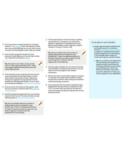 retail business checklist in pdf