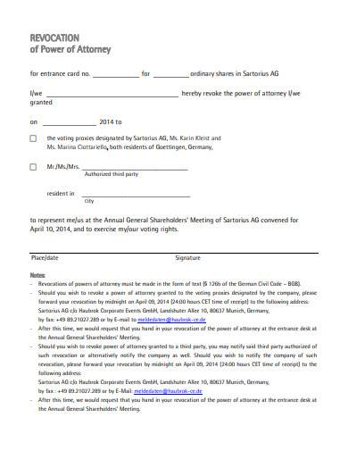 revocation of power of attorney form in pdf