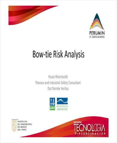 safety consultant bow tie risk analysis sample