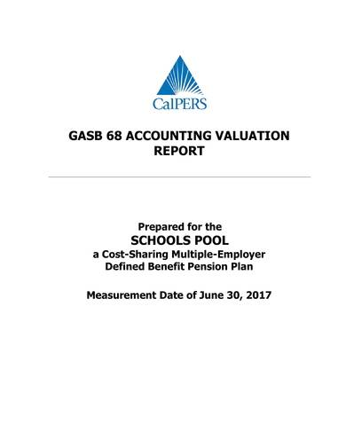 sample accounting valuation report