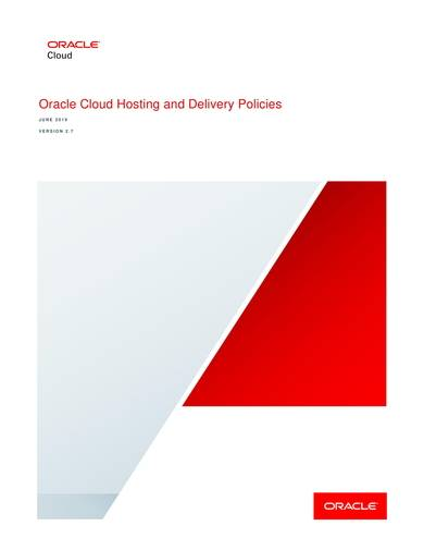sample cloud hosting and delivery policies