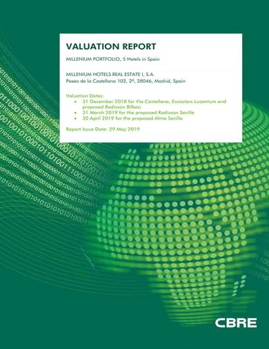 sample hotel valuation report