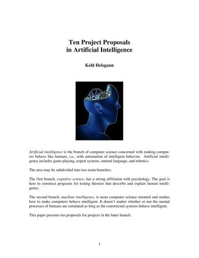sample it proposal in artificial intelligence
