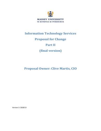 sample it services proposal