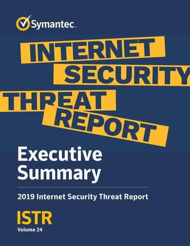 sample internet security threat report