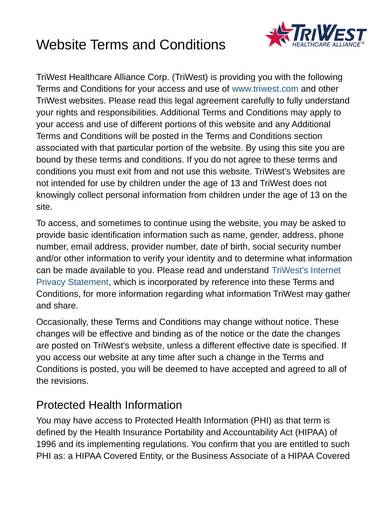 sample medical site terms and conditions