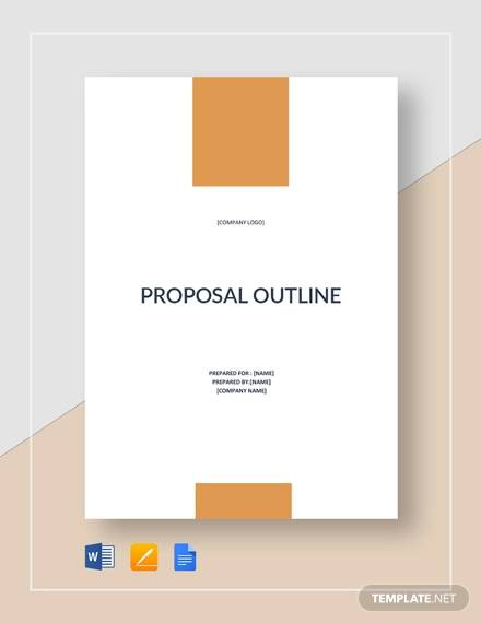 sample proposal outline