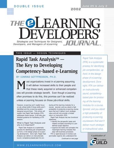 sample rapid task analysis