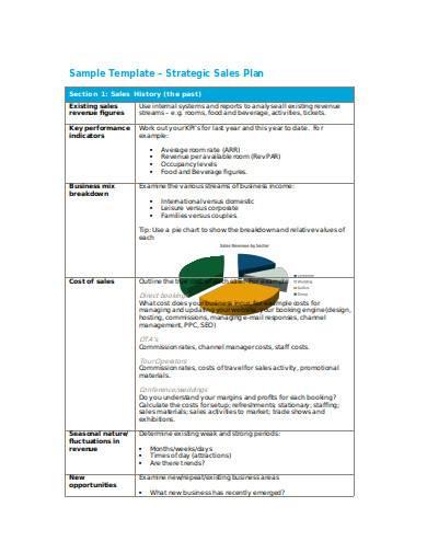 strategic sales plan in doc