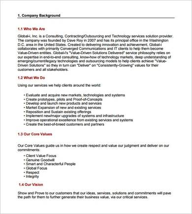 technology consulting proposal sample in pdf