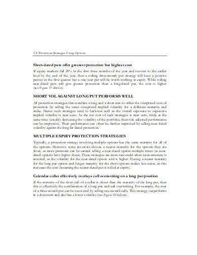 volatility index trading strategies in pdf