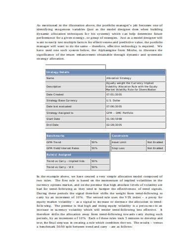 volatility trading strategies in doc