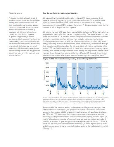 volatility trading strategies in pdf