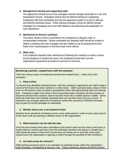 workload negotiation template1