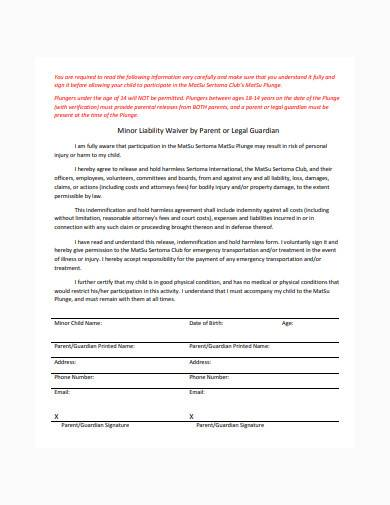 basic court costs waiver sample