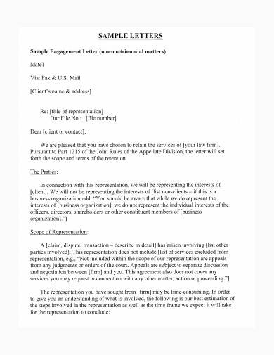 basic disengagement letter template