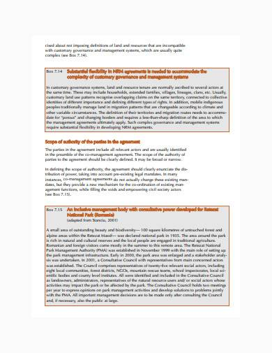 co management agreement in pdf