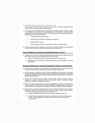 construction action plan in pdf