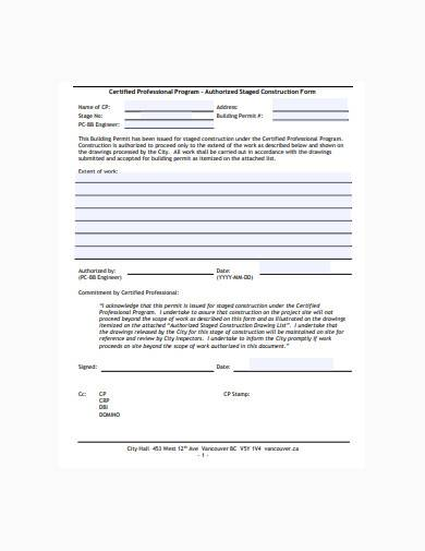 construction form in pdf