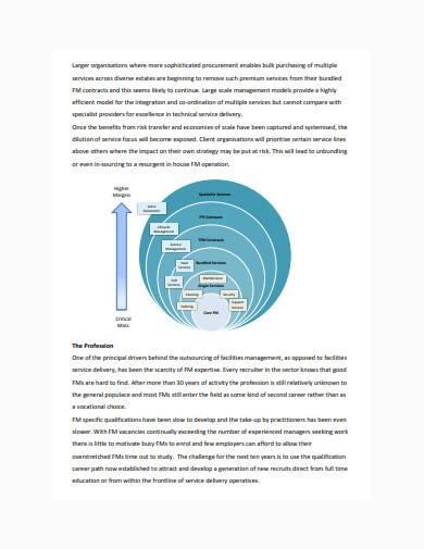 essential facilities management report sample
