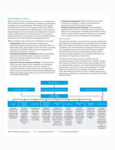 formal risk management report sample