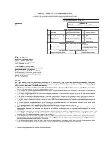 formal settlement offer letter sample