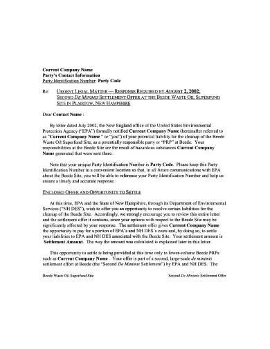 Insurance Claim Settlement Letter from images.sampletemplates.com