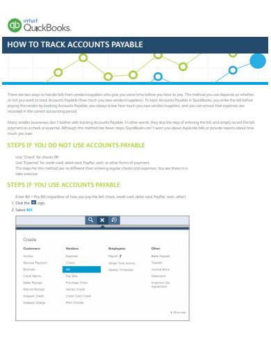 accounts payable guide template