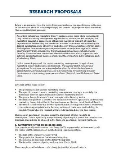 administration business research proposal