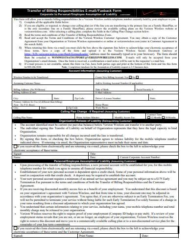 assignment of liability agreement template