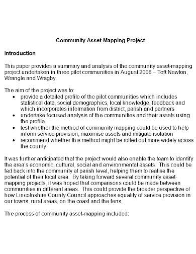 community asset mapping project