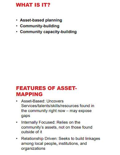 community asset mapping template