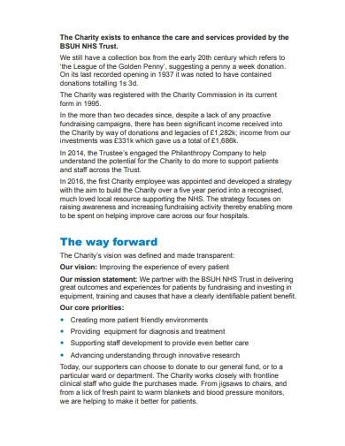 hospital charity annual report