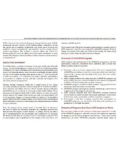 sample research report template