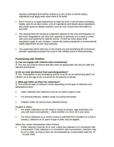 simple charity risk assessment template