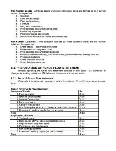 stamndard variance analysis report