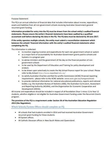 basic charity questionnaire template