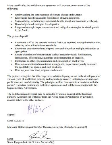 basic research collaboration agreement