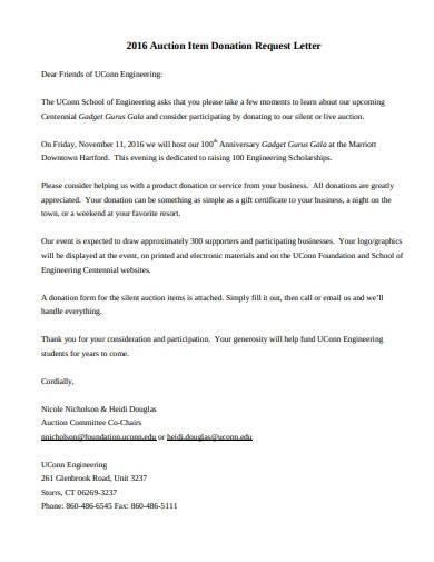 donation fundraising letter sample
