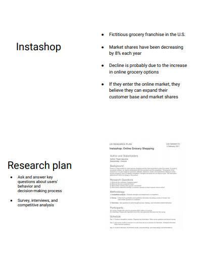 formal user research report