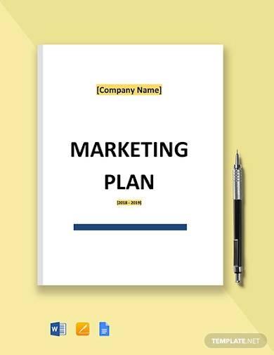 free basic it marketing plan