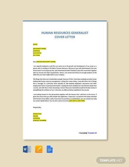 Hr Generalist Cover Letter Sample from images.sampletemplates.com